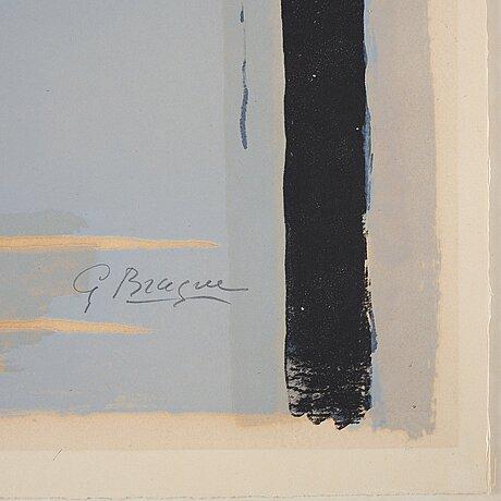 """Georges braque, """"l'oiseau et son ombre i""""."""