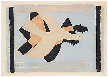 """252. Georges Braque, """"L'oiseau et son ombre I""""."""