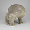 A stoneware figurine by lisa larson gustavsberg.