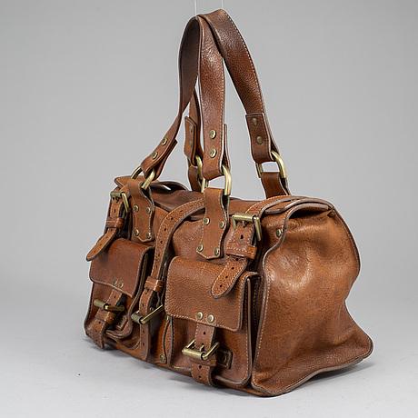 Mulberry, a 'roxanne' leather handbag.