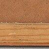 Jerzy duda-gracz, oil on masonite panel, signed duda gracz and dated -25.