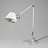 "A pair of ""tolomeo"", michele de lucchi and giancarlo fassina for artemide italian table lamps."
