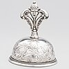 Christopher creutz, a silver table bell, stockholm 1863.