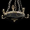 An 20th century empire style ceiling light.