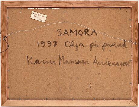 "Karin mamma andersson, ""samora""."
