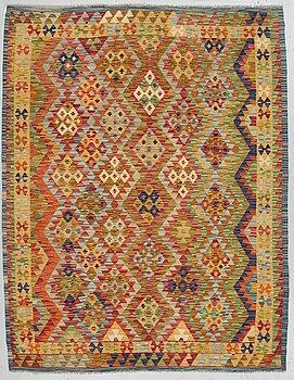 A RUG, kilim, ca 208 x 165 cm.
