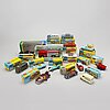 A collection of corgi toy cars of 15 pcs.