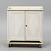 An early 19th century painted cabinet.
