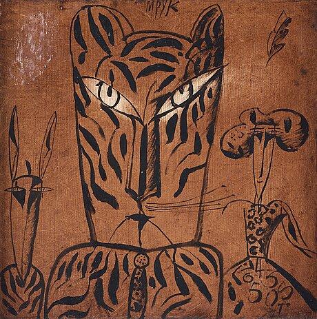 Madeleine pyk, tiger.
