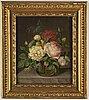 Augusta plagemann, oil on canvas, signed.