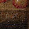 Augusta plagemann, oil on canvas, signed. executed 1845.