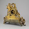 A  19th/20th century mantle clock in louis-xvi style.