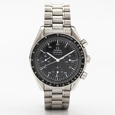 Omega speedmaster reduced automatic, wrist watch, 39 mm.