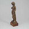 Axel waleij, a bronze sculpture, signed and numbered 1/5. a. pettersson fud.