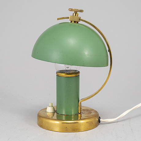 Erik tidstrand,a table light, nordiska kompaniet, 1930's.
