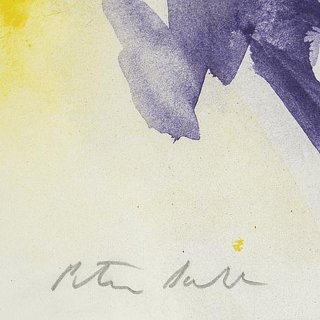 Peter dahl, färglitografi, signerad, 16/210.