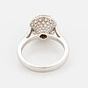 2,10 ct brilliant-cut natural fancy light-brown diamond ring, with igi certificate.