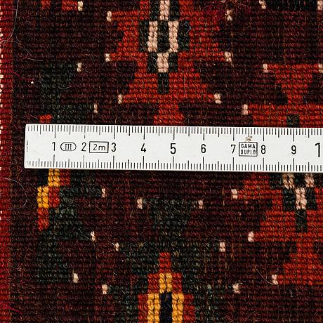 A carpet, antique/semi-antique yomoud, ca 330 x 187 cm.