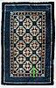 A rug, a semi-antique baotou, china, ca 159 x 105 cm.