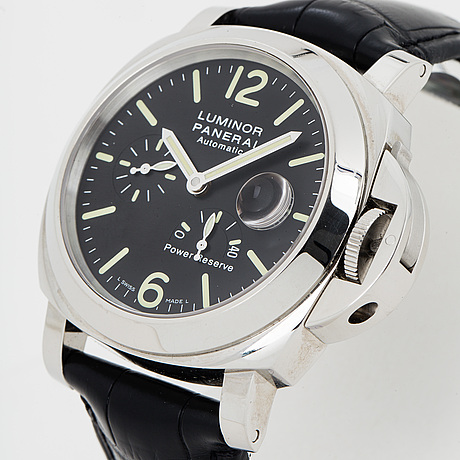 Panerai, luminor, power reserve, wristwatch, 44 mm.
