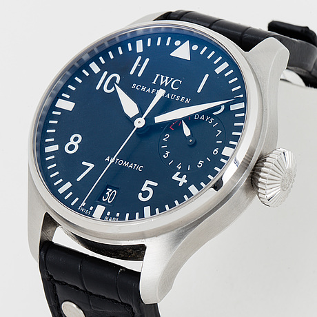 Iwc, schaffhausen, big pilot´s watch, wristwatch, 46 mm.