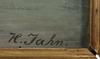 Hans emil jahn, tillskriven, olja på duk, sign o dat 1884.