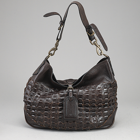 Mulberry, a brown leather bag.