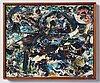 Erik ortvad, oil on canvas, signed erik ortvad and dated 1964.
