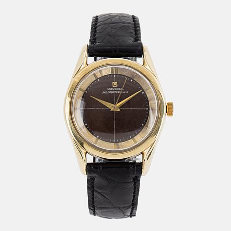 Universal, polerouter genève, armbandsur, wristwatch, 35 mm.