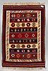 A carpet, persian kilim, ca 240 x 167 cm.