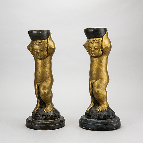 Piedestaler, 2 st, 1900-talets andra hälft.