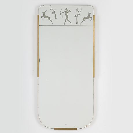 Spegel, art deco, 1930/40-tal.