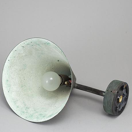 Hans-agne jakobsson, a 'tratten' wall lamp, markaryd.