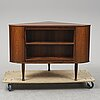 A 1960's rosewood drinks cabinet by per gardner, sola, norway.