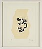 Marianne lindberg de geer, lithograph in colours, signed ea.