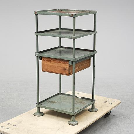 Hylla / bord, industrimodell, 1900-talets första hälft.