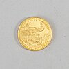 2005 liberty fifty dollar gold coin.