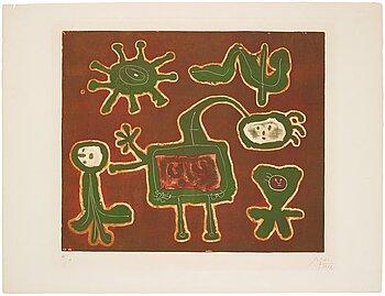271. Joan Miró, From Série I.