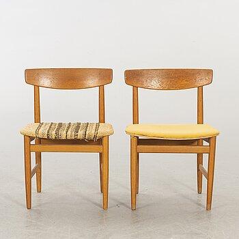 """BØRGE MOGENSEN, two chair """"Öresund"""" Karl Andersson & Söner."""