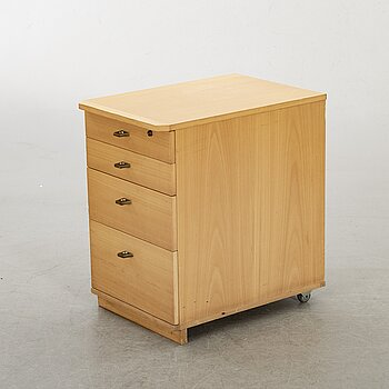 A drawer designed by Olof Pira, late 20th century.