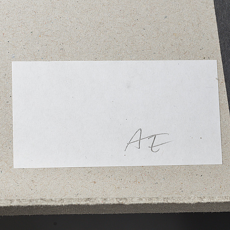 Andreas eriksson, portfolio. signed ae inside the box.