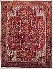 A carpet, old heris/gorovan, ca 363 x 271 cm.