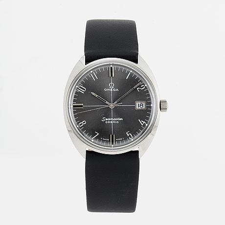 Omega, seamaster, cosmic,  wristwatch, 35 mm.