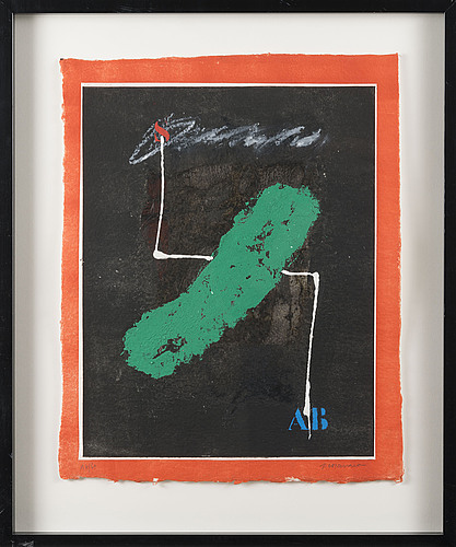James coignard, carborundumetsaus, signed, numbered 16/60.