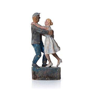407. Bror Hjorth, Dancing couple.