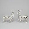 "Estrid ericson, a pewter sculpture of a ""chinese deer"", svenskt tenn, stockholm."