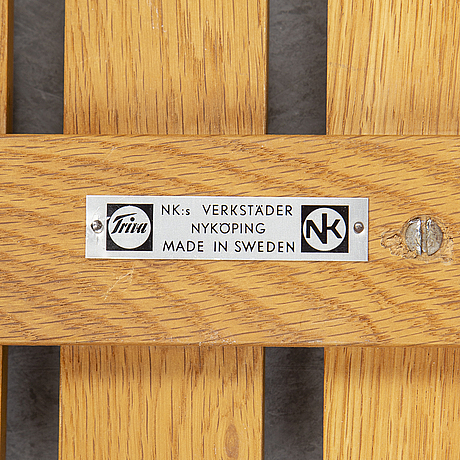Yngvar sandstrÖm, a 'tokyo' bench, nordiska kompaniet, stockholm.