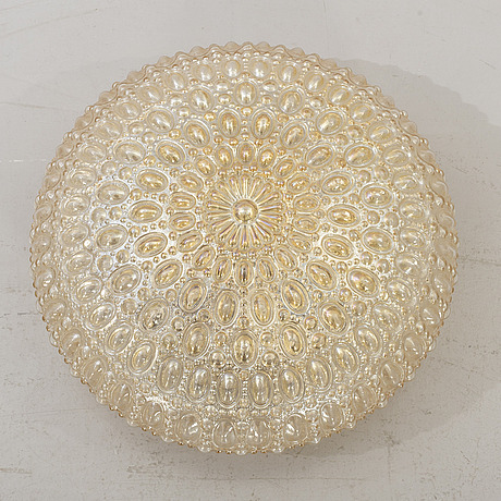 A ceiling lamp by helena tynell for glashÜtte limburg.