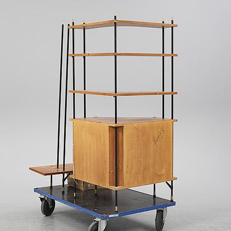 A 'prydno' teak shelf from the 1950's-/60's.