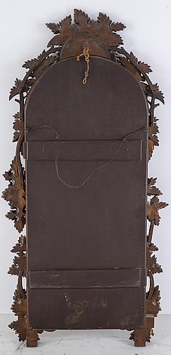 Spegel med konsolbord, 1800-talets andra hälft.